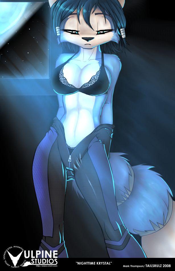 Krystal de starfox porn