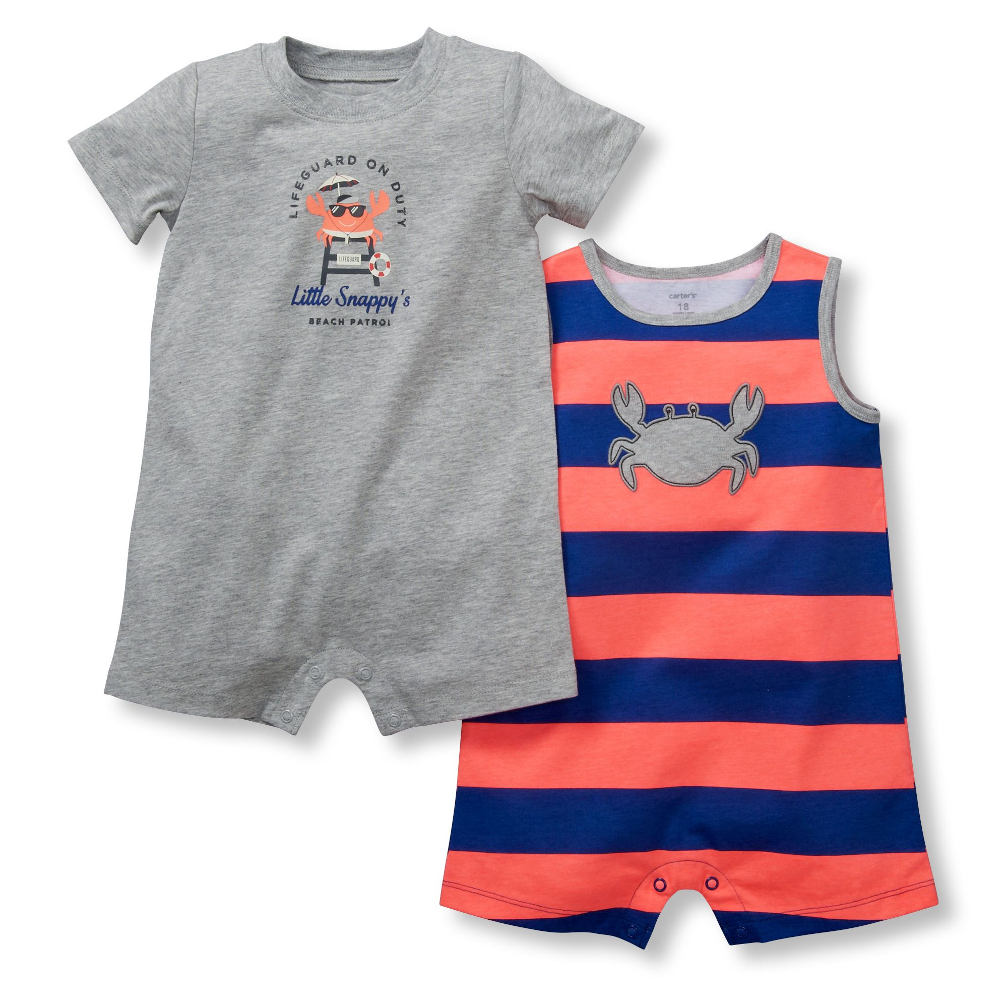 2-Pack Rompers | Carters Oshkosh Canada