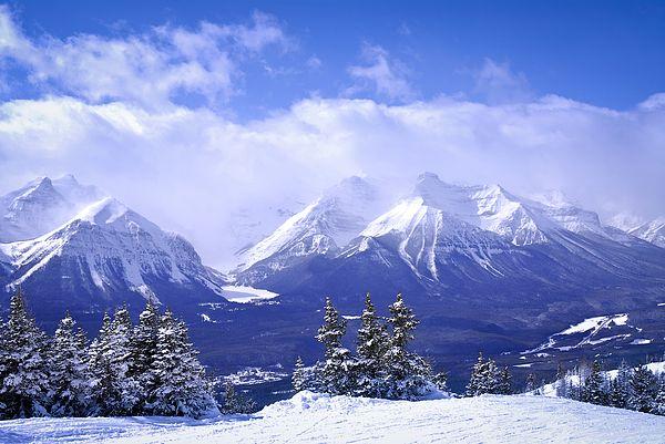 Winter Mountains By Elena Elisseeva Winter Mountain Cool Landscapes Winter Landscape