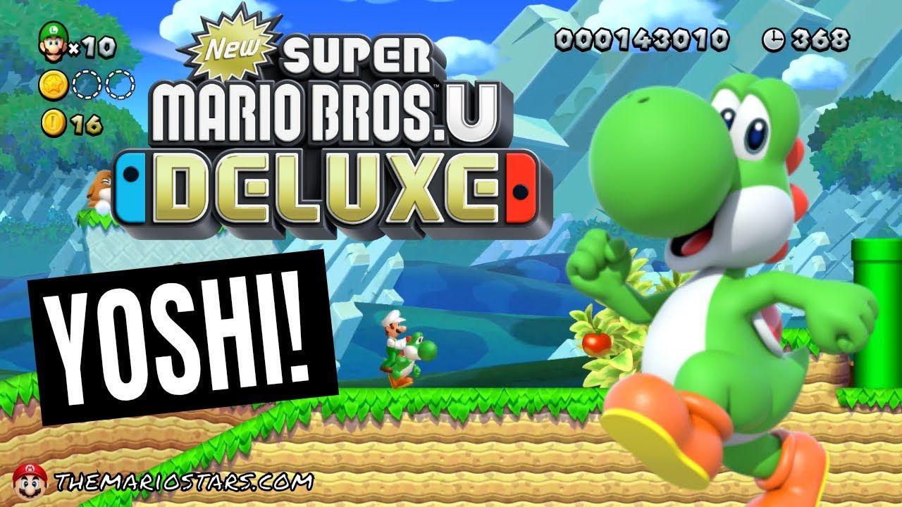 New Super Mario Bros U Deluxe Yoshi Hill Acorn Plains 3 Nsmbud
