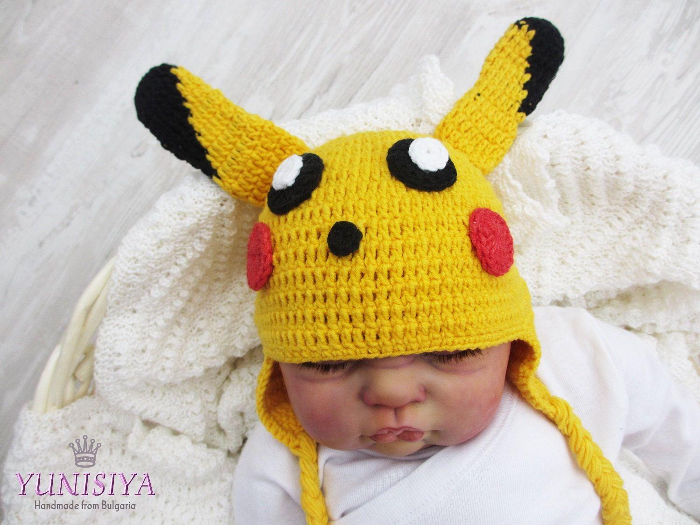 Crochet Hat, Halloween Costume, Pokemon Go, Pokemon Cosplay, Toddler ...