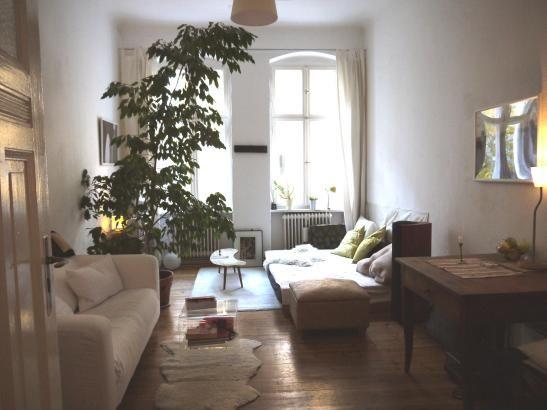 Super gemütliche Wohnzimmer-Einrichtungsidee Große Altbaufenster - grose fenster wohnzimmer