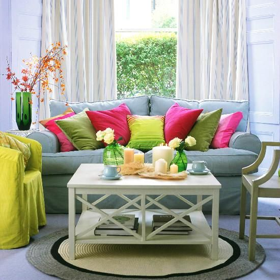 25 Bright Interior Design Ideas And Colorful Inspirations For Home Decorating Spring Living Room Spring Living Room Decor Living Room Styles