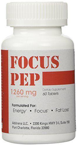 Addrena Focus Pep Over The Counter Stimulants To Speed U
