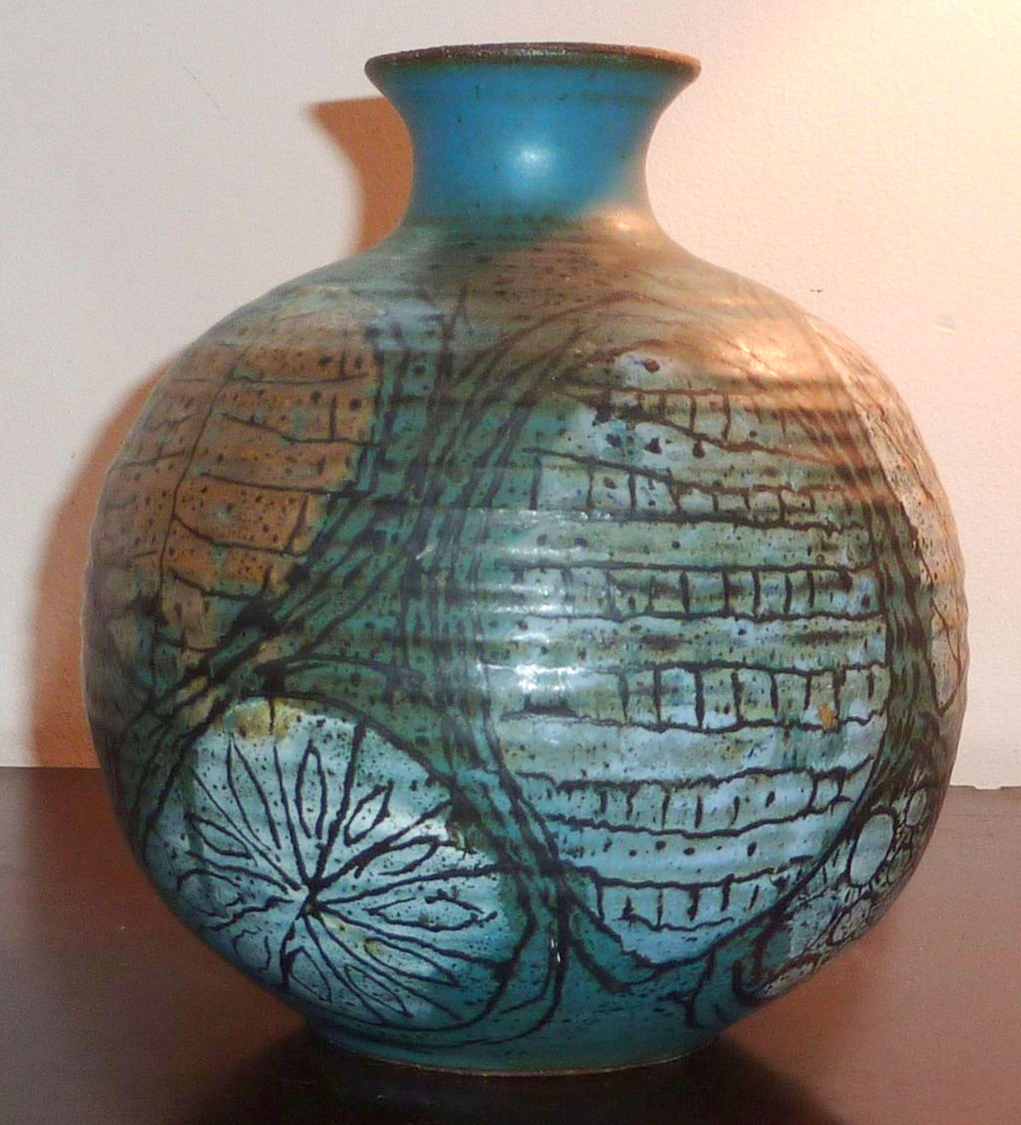 Frank matranga studios mid century stoneware vase studio pottery pottery frank matranga studios mid century stoneware vase reviewsmspy