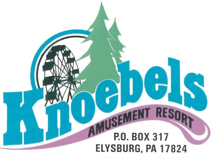 picture about Knoebels Coupons Printable named the Least complicated Knoebels symbol Conventional Park Trademarks Emblems