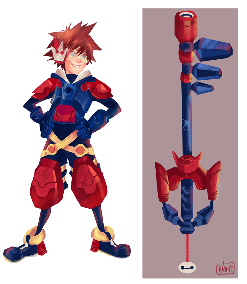 Sora Big Hero 6 Kingdom Hearts Kingdom Hearts Worlds Sora Kingdom Hearts