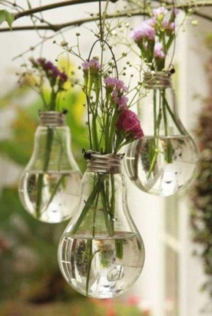 terrassen ideen einzigartige vasen kreative ideen für dekoration