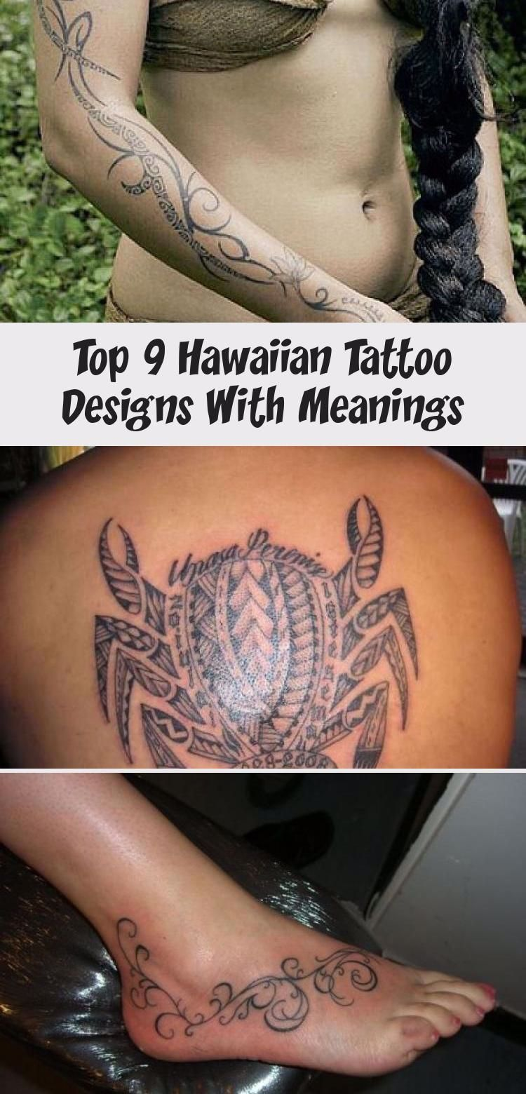 Top 9 Hawaiian Tattoo Designs With Meanings | Styles At