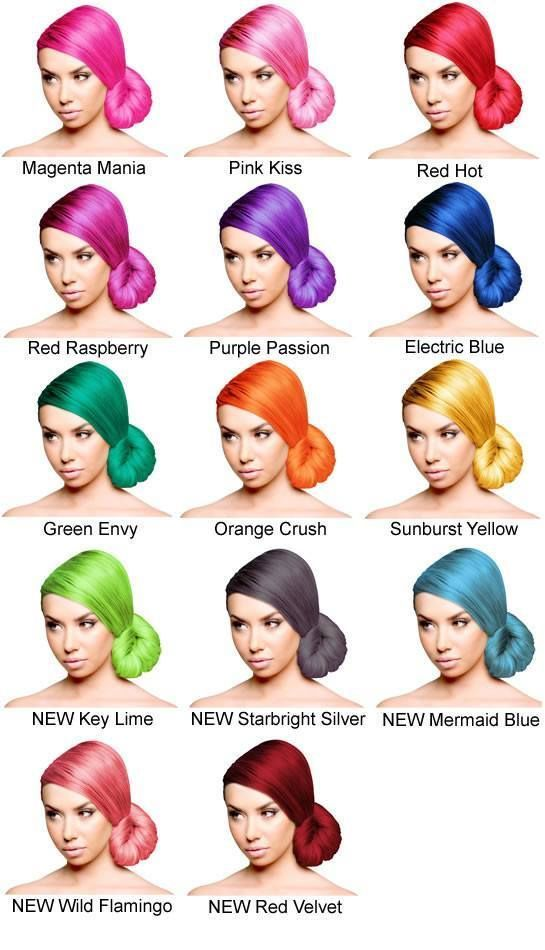 Sparks Long Lasting Bright Hair Color Bright Hair Colors Sparks Hair Color Permanent Hair Color