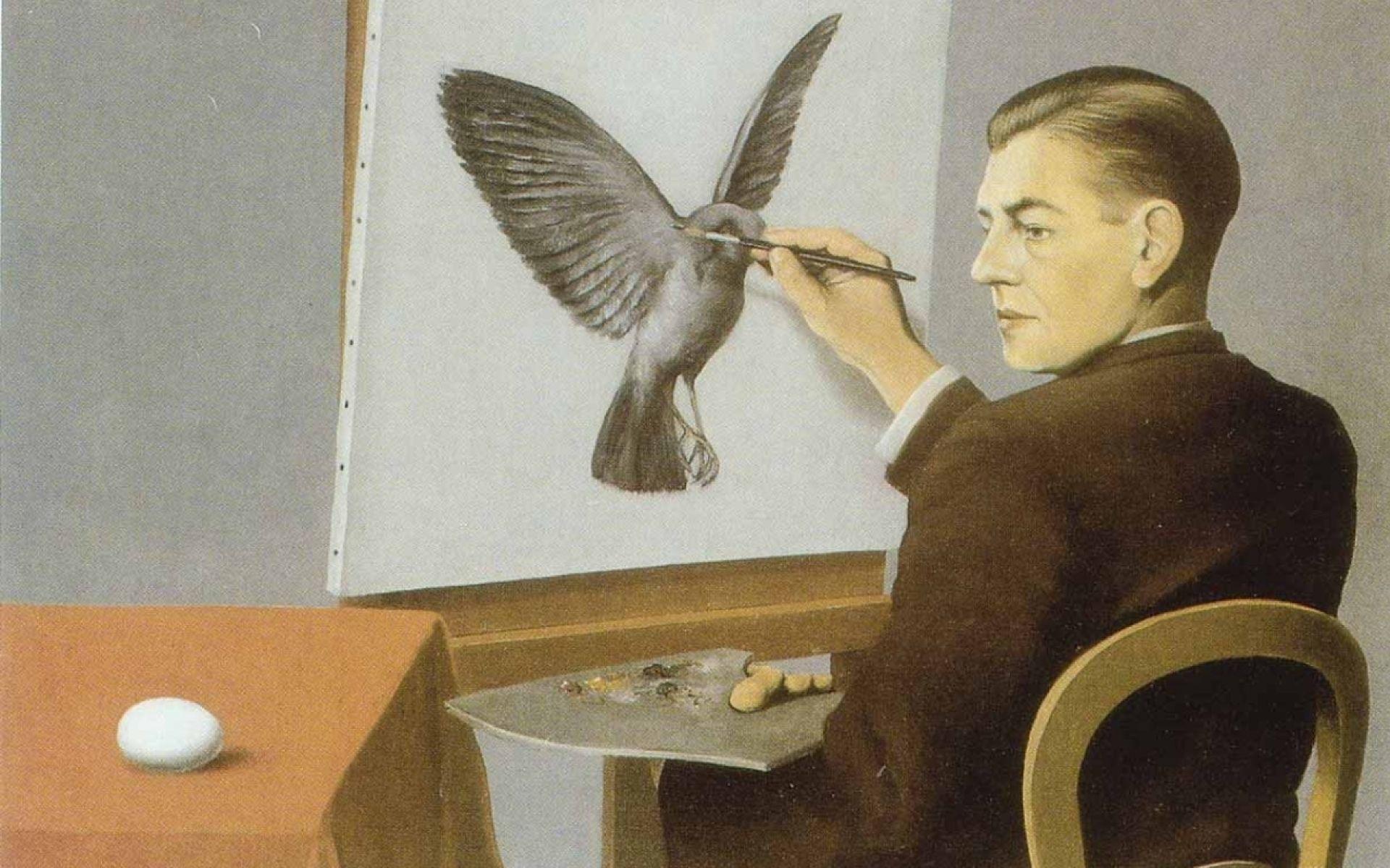 paintings self portrait painters, rene magritte   S E L F+ ...
