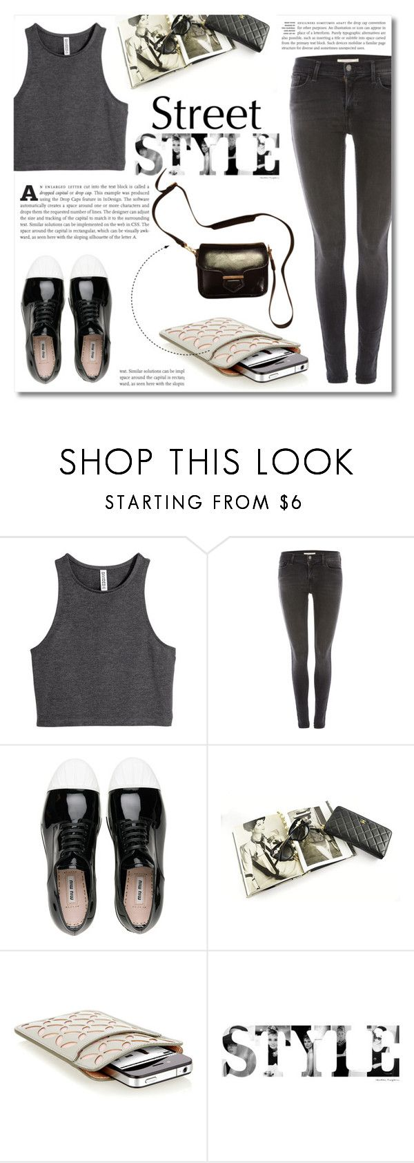 """~Casual Friday~"" by dolly-valkyrie ❤ liked on Polyvore featuring H&M, Levi's, Miu Miu, Chanel, Alaïa and Tod's"
