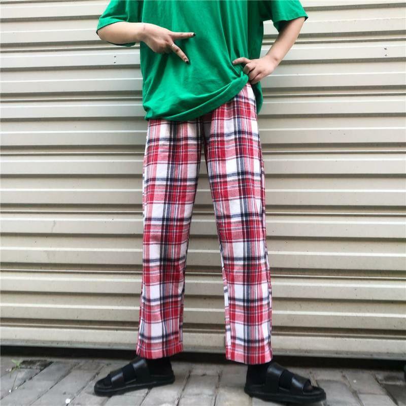 Unisex plaid pants Plaid pants, Pants, Aesthetic clothes