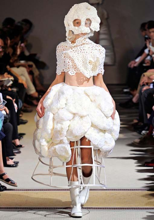 Weird wedding dress or what? Guess who owns this dress? http