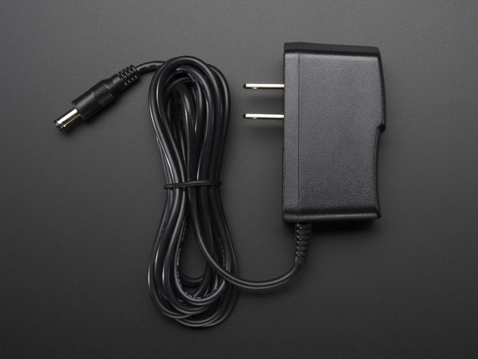 12v dc 1000ma 1a regulated switching power adapter ul