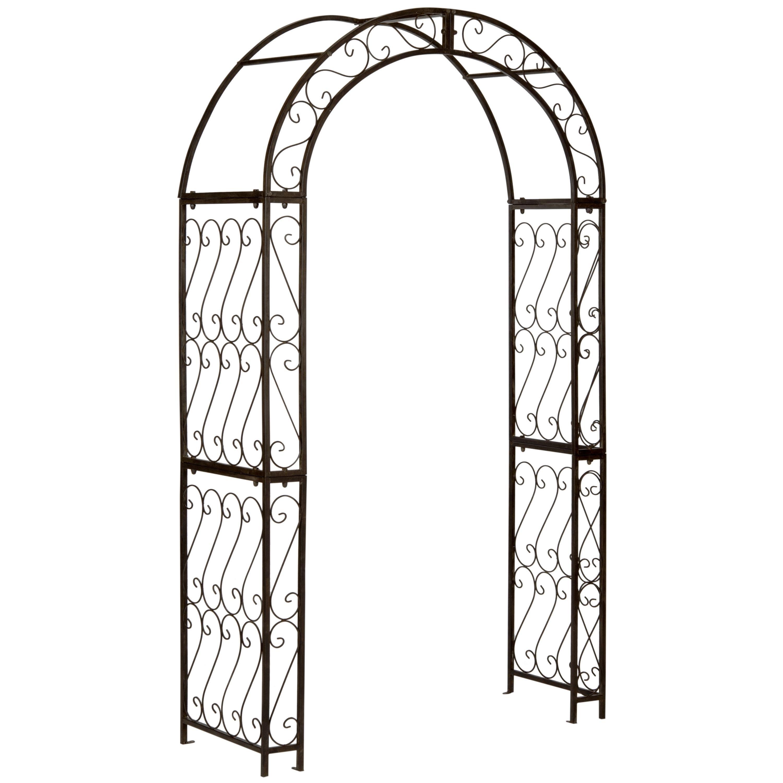 Safavieh Outdoor Living Pagan Rustic Brown Arch (PAT5007B) (Iron)