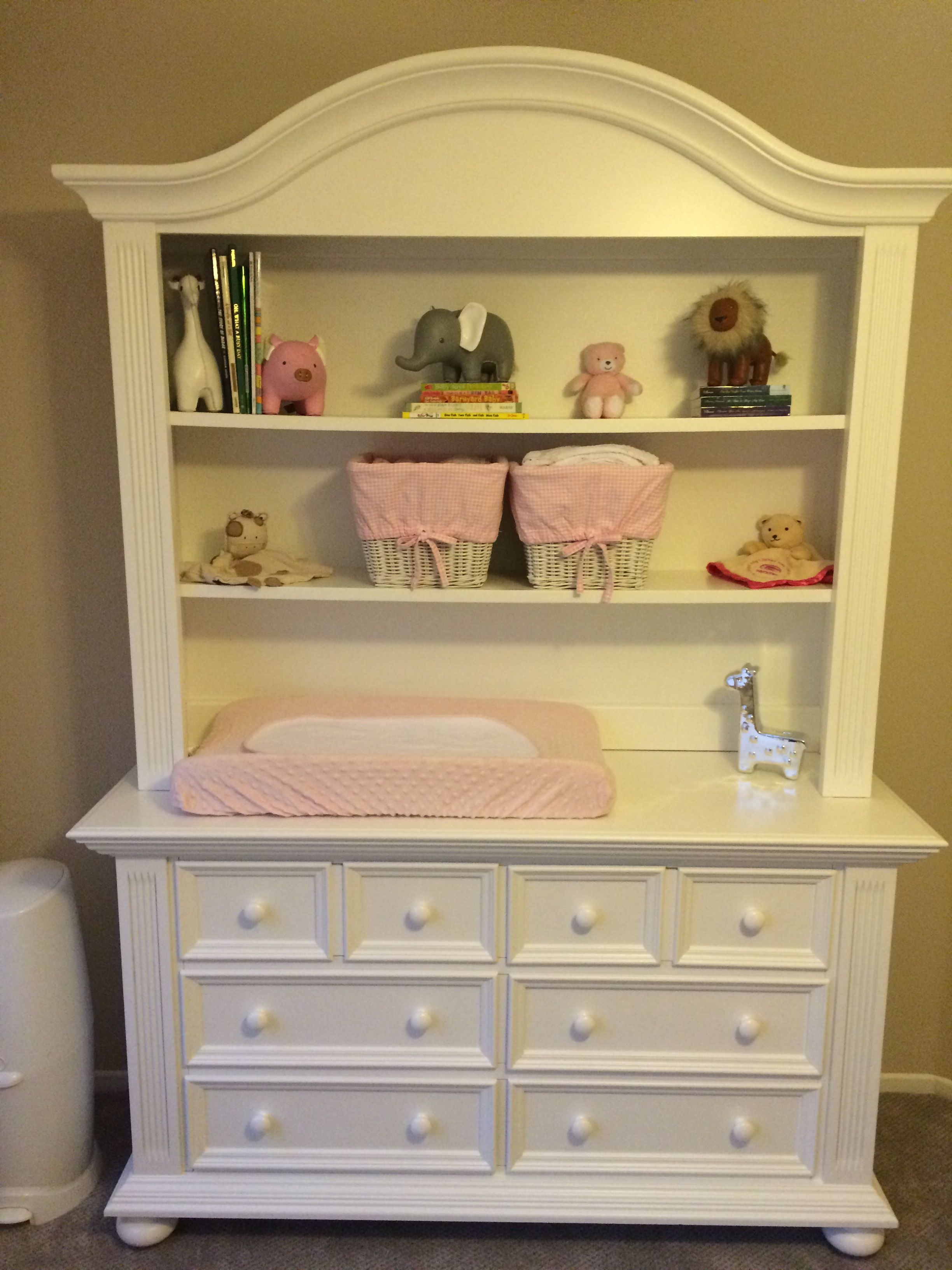Pottery Barn Kitchen Hutch Ceramic Sinks White And Dresser From Buy Baby Pink