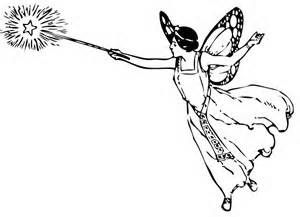 Fairy With Wand Clip Art Fairy Clipart Vintage Fairies Fairy