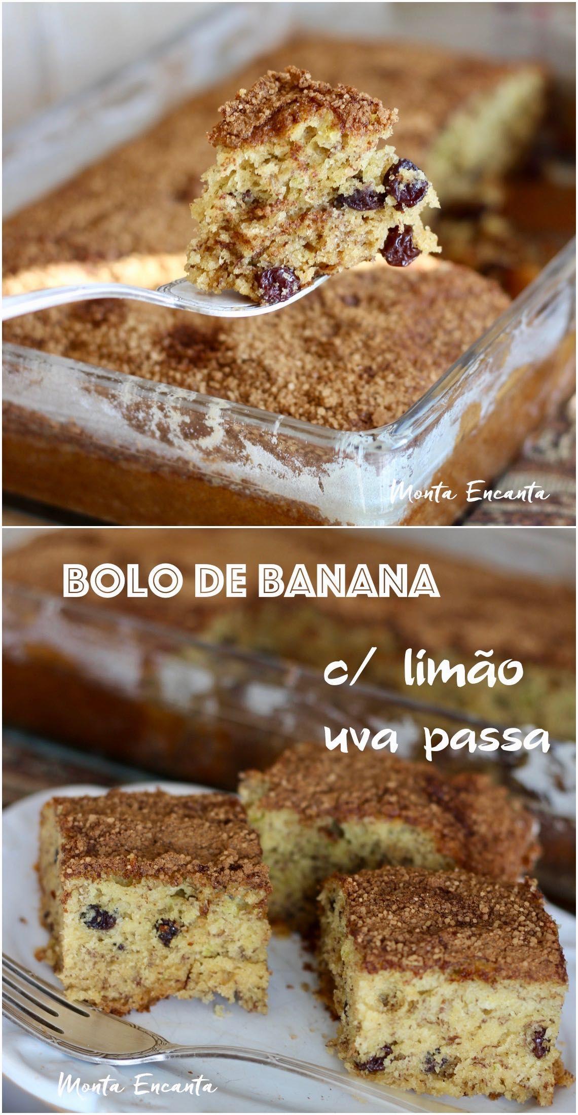 Bolo De Banana Fofinho A Gente Faz Com Maisena Com Imagens