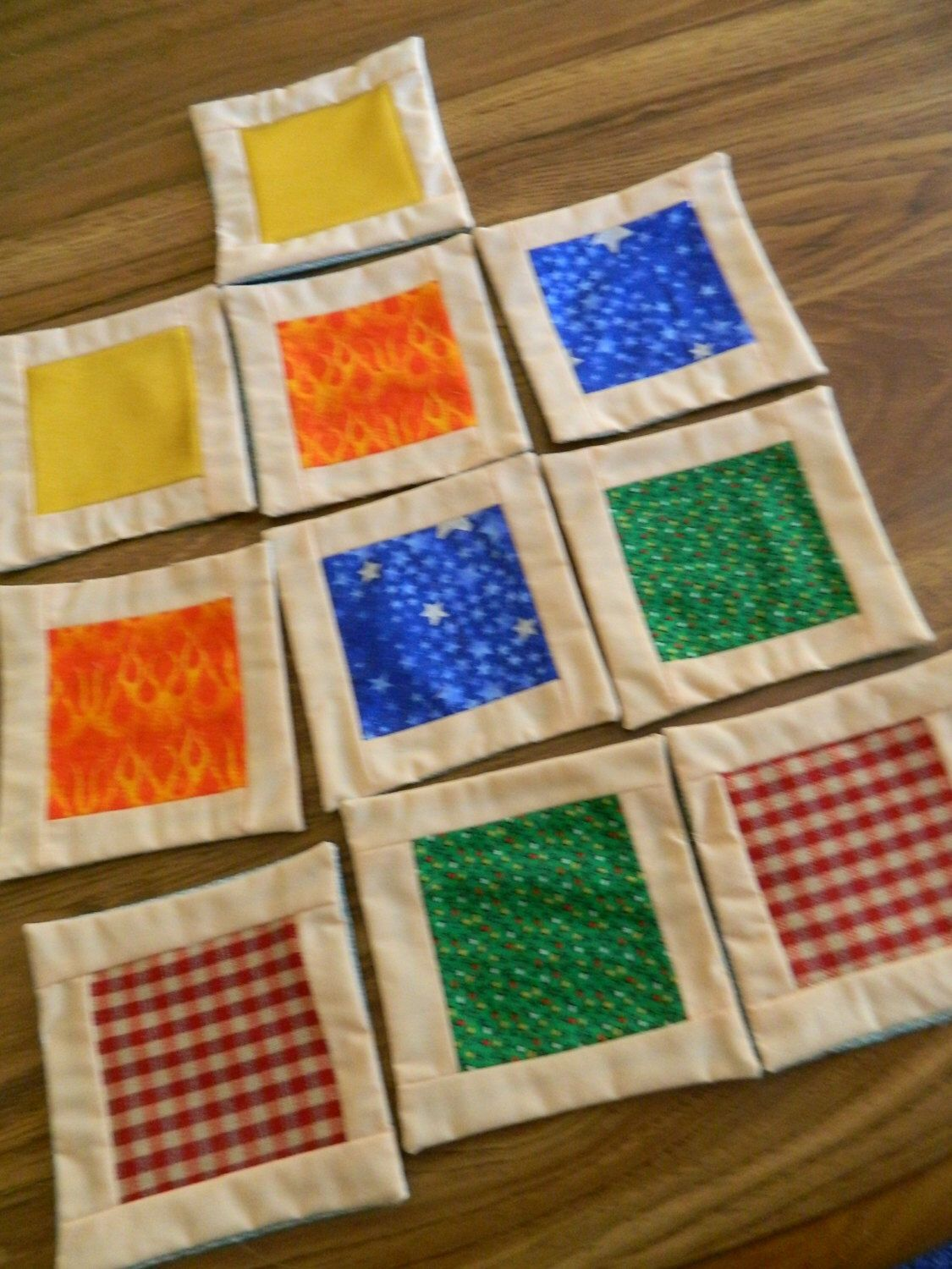 5 COLOR MEMORY MATCHING Game For All, Fabric Tile Game & Drawstring Bag, Alzheimers Activity, Nursing Home Game, Concentration, Toddler Game by DebsBusyNeedle on Etsy https://www.etsy.com/listing/474326666/5-color-memory-matching-game-for-all