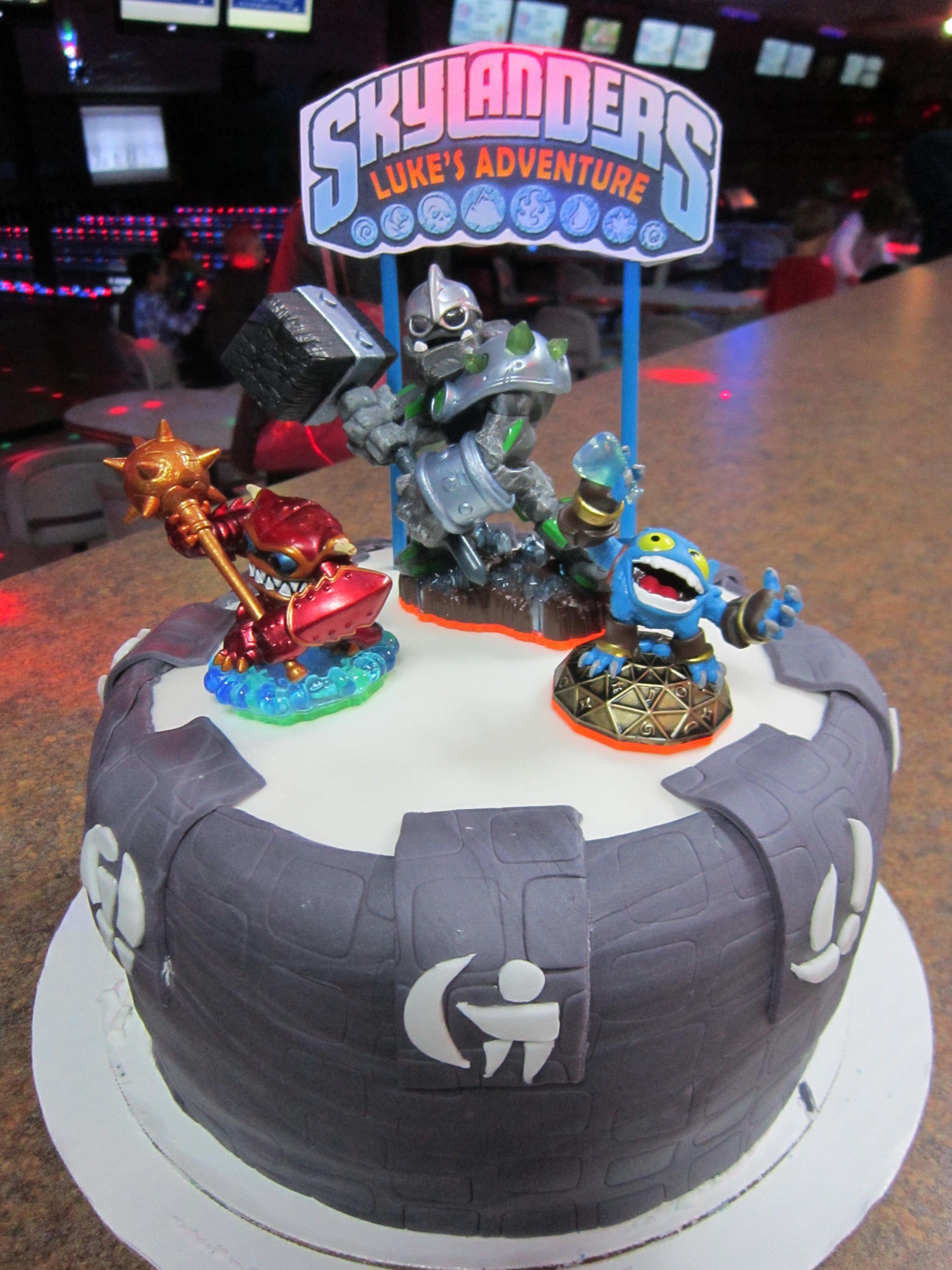 Skylander Cake Two Girls a Cake Pinterest Cake Birthdays