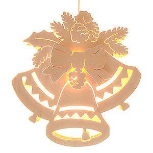 Fensterbild Drei Glocken Durchm. 30,5 cm