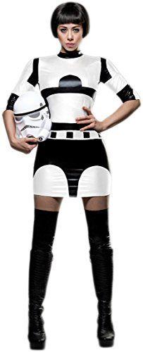 star wars stormtrooper kostüm damen
