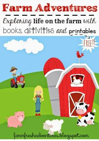 Photo of Farm Adventures with Books, Crafts and FREE Printables