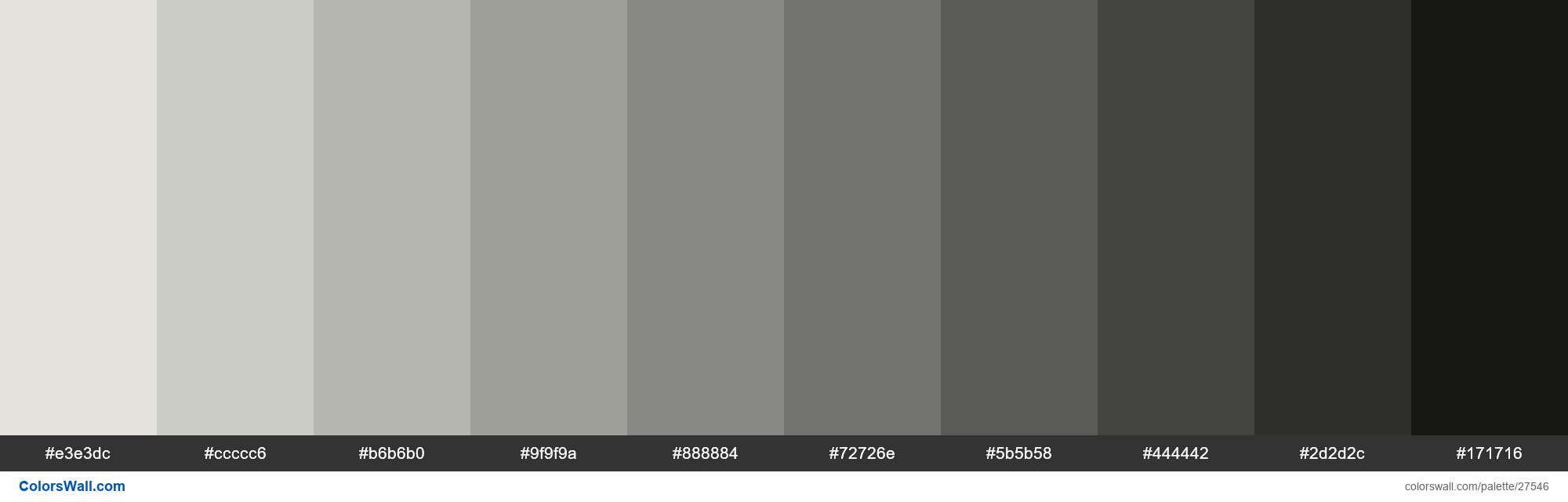 Shades Of Snow Drift Color E3e3dc Hex Hex Colors Travertine Colors Spring Colors