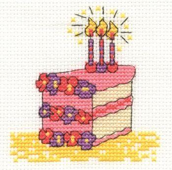 DMC Birthday Cake. Many free pdf patterns. 1/15.