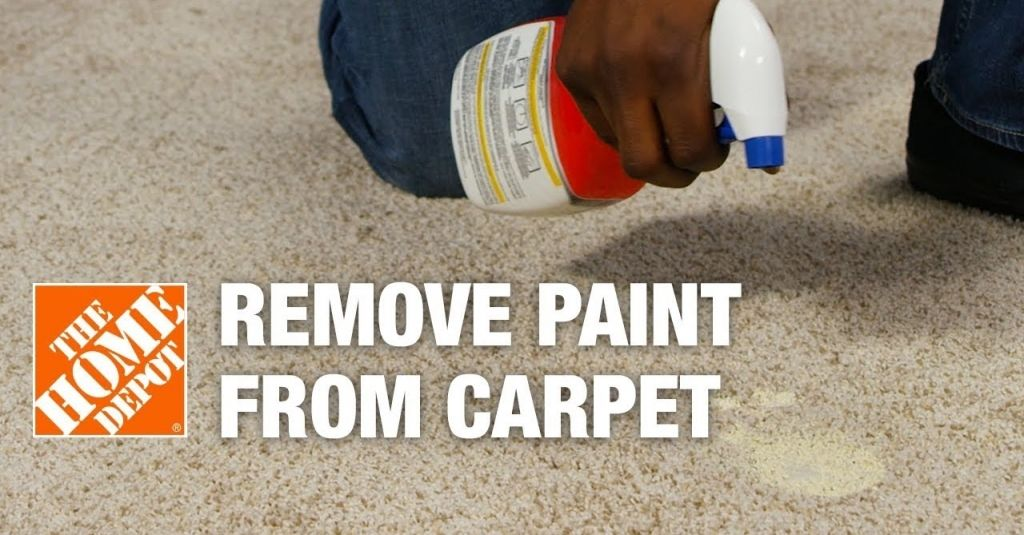 How to get paint out of carpet where to buy carpet