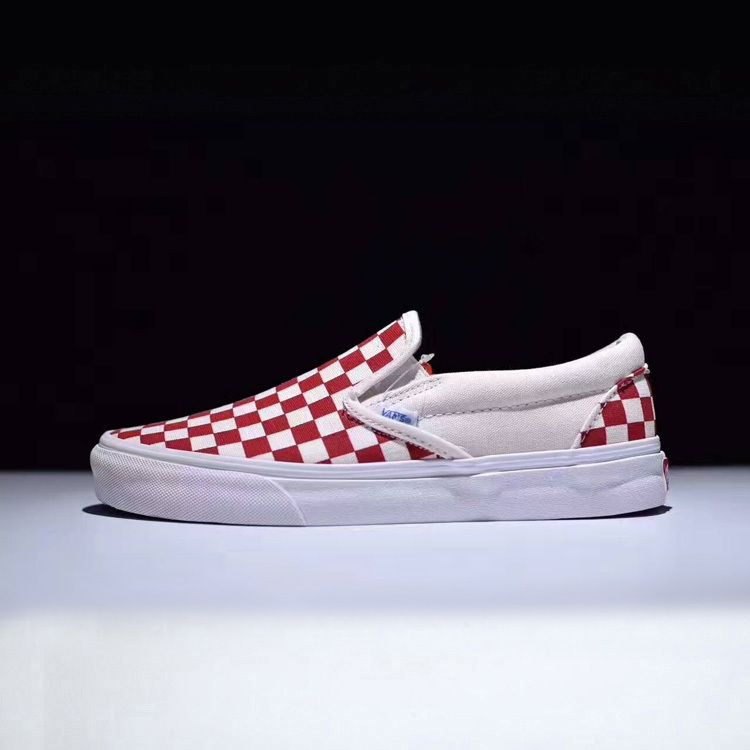 7238f585a1 Checkerboard new color classic Japanese line Vans Vault OG Classic slip-on  LX CANVAS9  Vans
