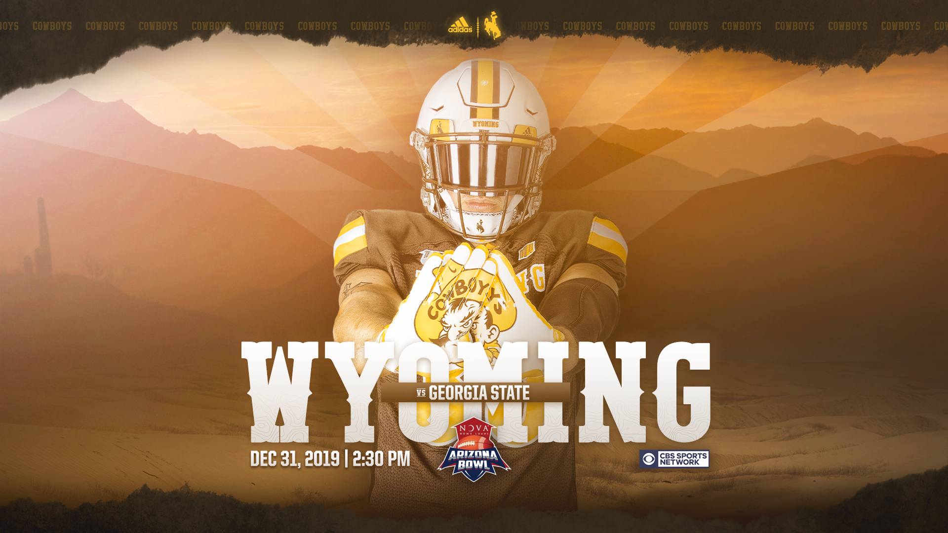 Wyoming Cowboys Invited To Nova Home Loans Arizona Bowl Wyoming Cowboys Cowboys Wyoming
