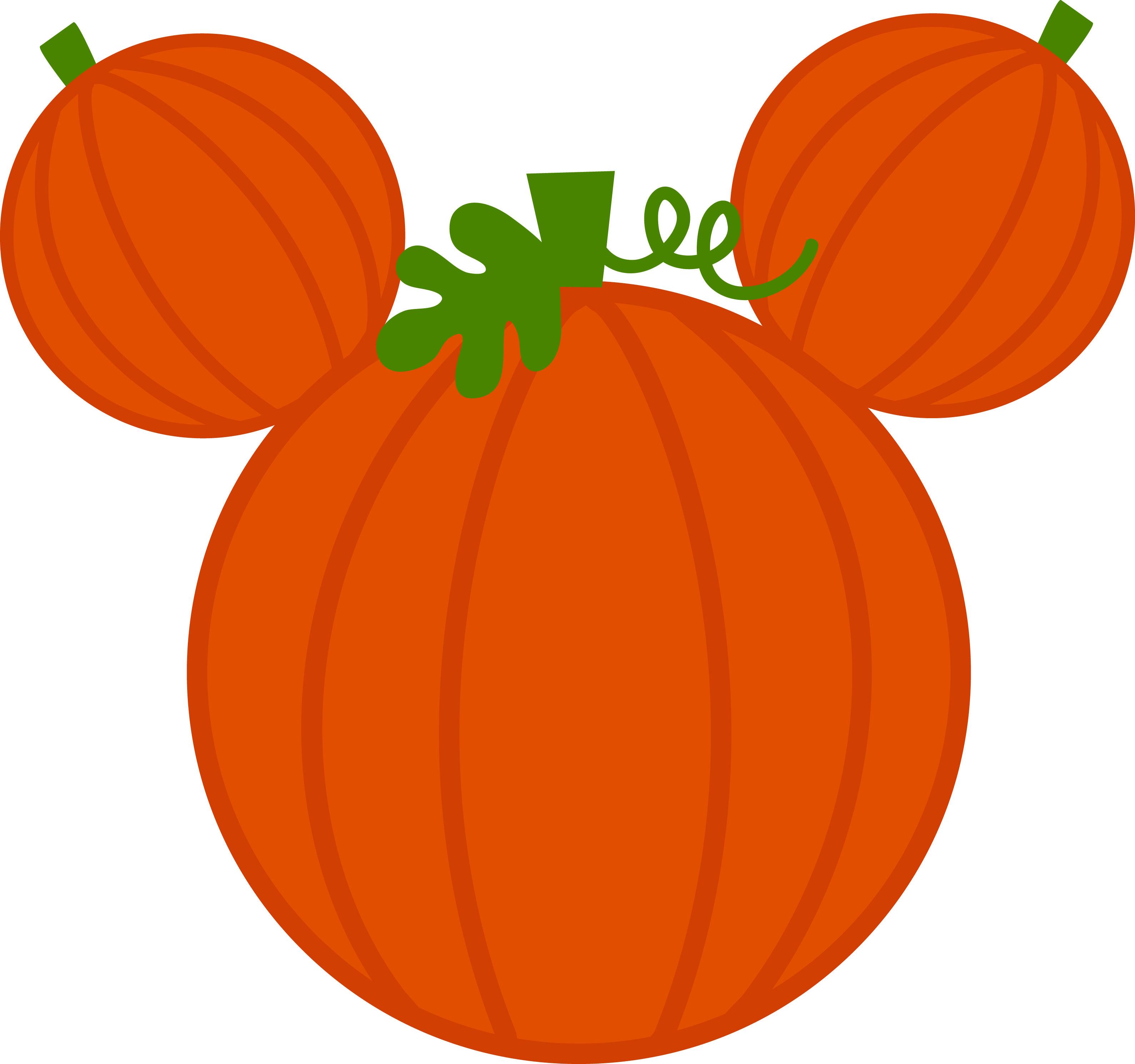 mouse shaped pumpkin Disney pumpkin, Disney scrapbook