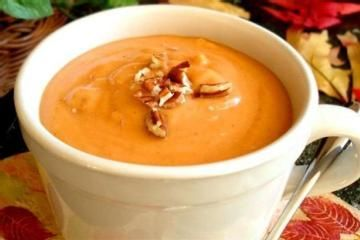 Creamy Sweet Potato Soup from Weight Watchers