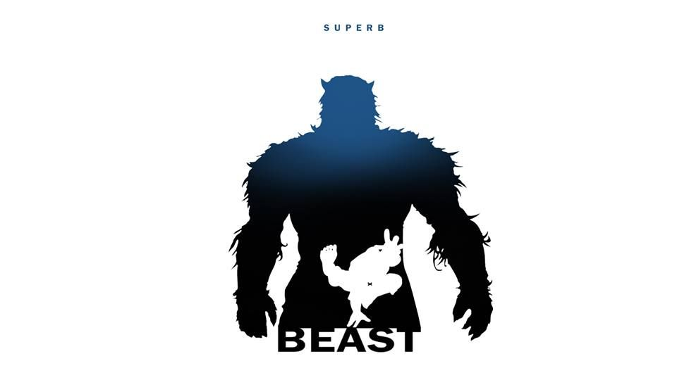 Marvel Characters Silhouette