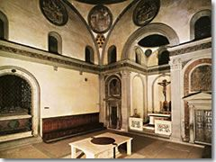 Filippo Brunelleschi Old Sacristy Church Of San Lorenzo Florence Italy 1421 1440 Bellevue