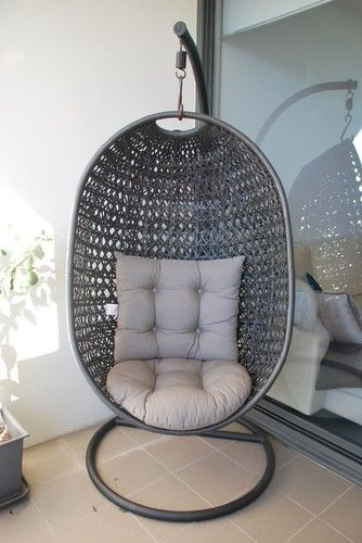 Domayne Hanging Egg Chair In Mocha Hanging Egg Chair Hanging