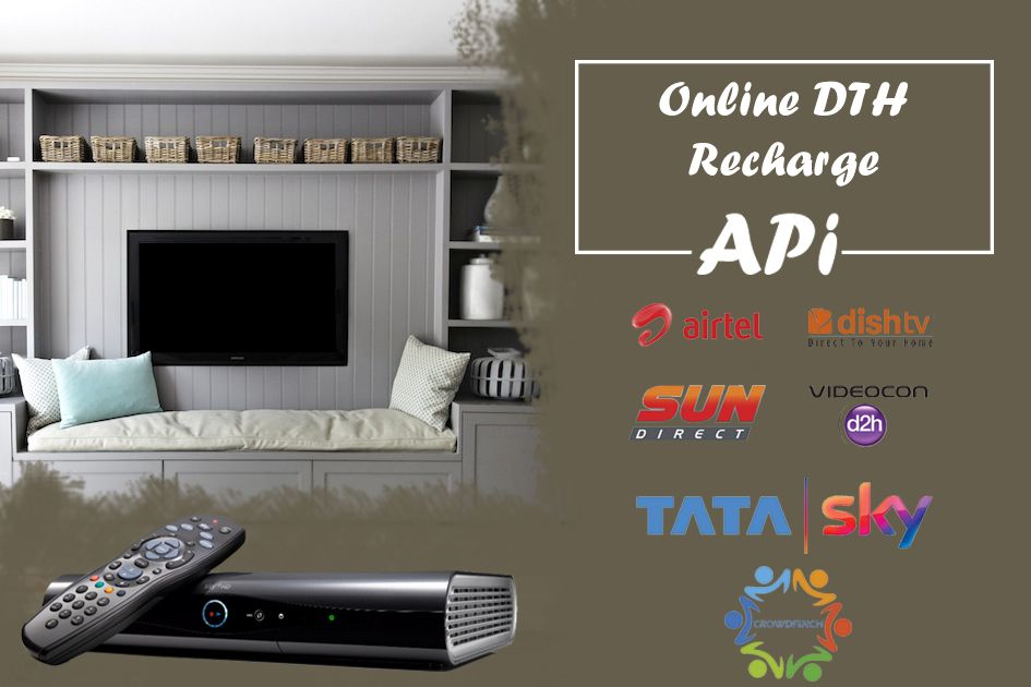 Online DTH recharge APi of all company. Dth, Label