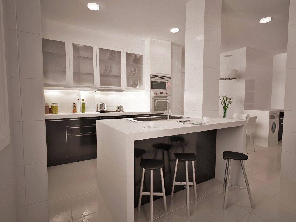 cocina con isla buscar con google ideas para la casa