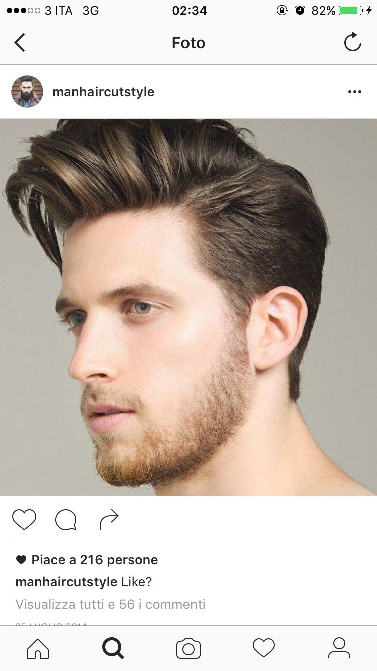 Taglio di capelli online uomo