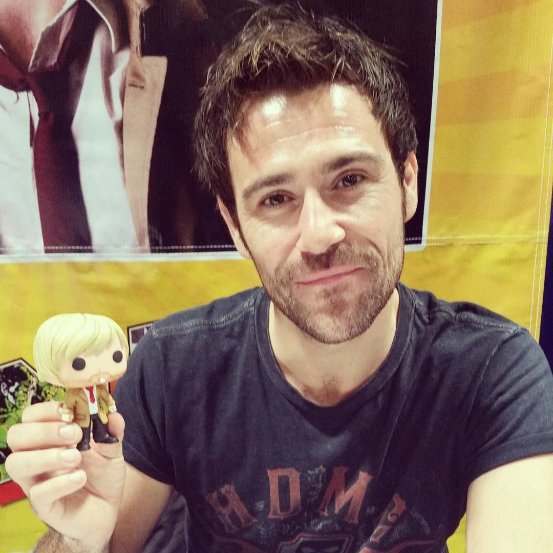 Thedollcircle On Instagram Someone Brought Matt Ryan A Custom Constantine Pop How Cool Tbcc Tampabaycom Matt Ryan Constantine John Constantine Matt Ryan