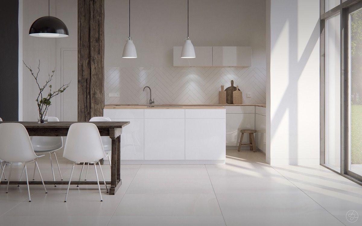 bare-Scandinavian-kitchen-white-tiled-floor-open-black-framed-window.jpg (1200×750)