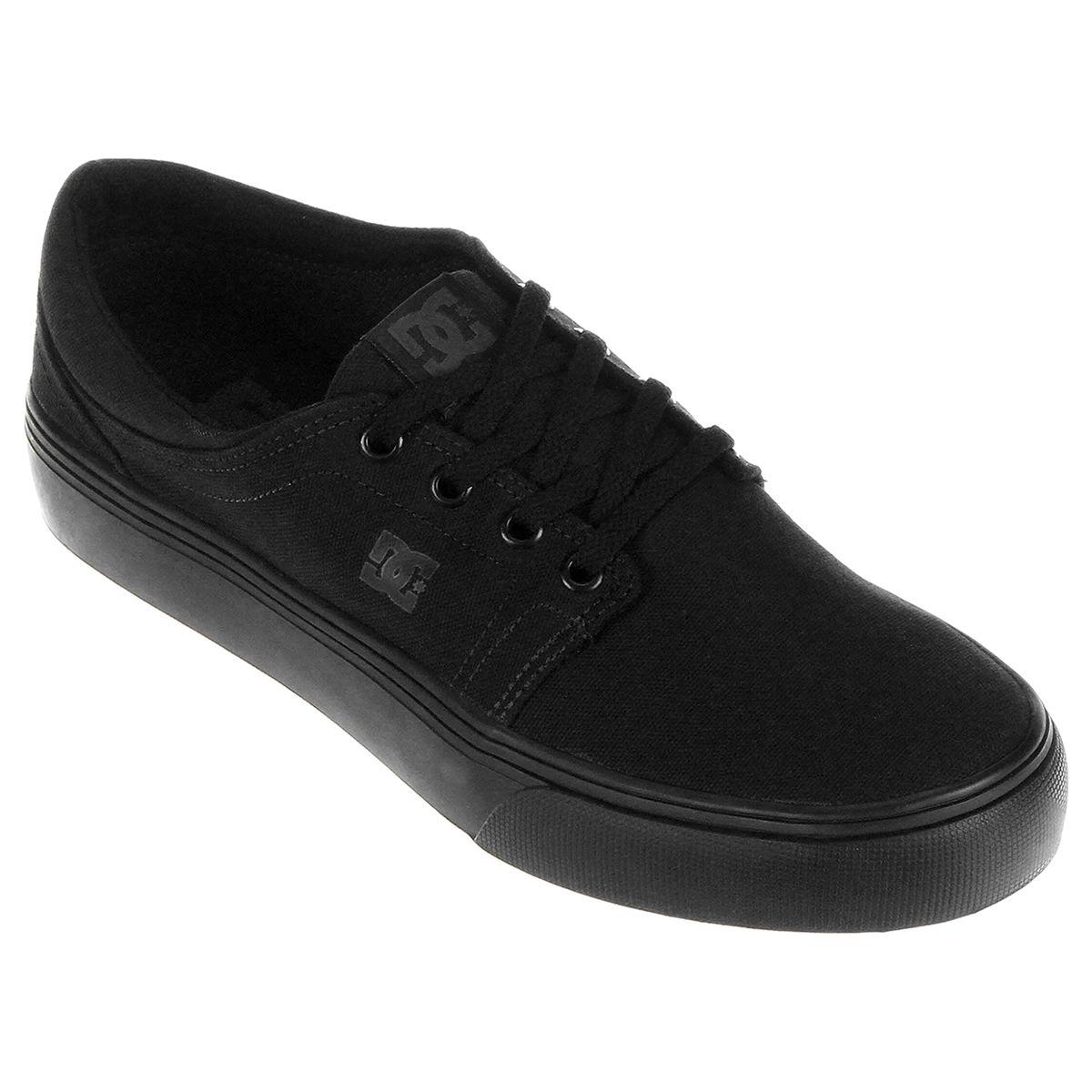 Tênis DC Shoes Trase TX Preto | Tenis skatista, Tenis