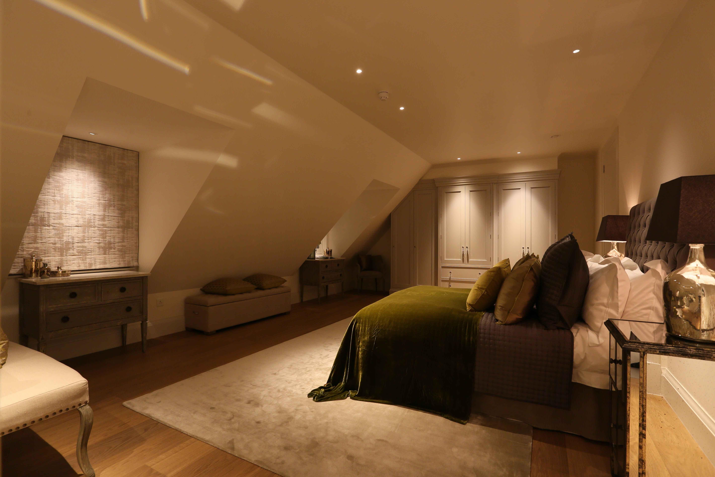 Bedroom Lighting Design By John Cullen Lighting Bedroom Lighting Bedroom Loft Residential Lighting Design