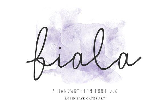 Fiala a handwritten font duo calligraphy handwriting fonts and