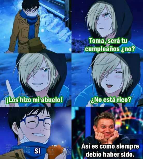 Memes de Yuri!!! on ice  [FINALIZADO]