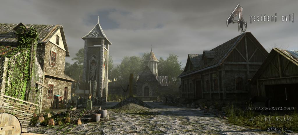 Resident Evil4 Remake Village By Bowu On Deviantart Resident