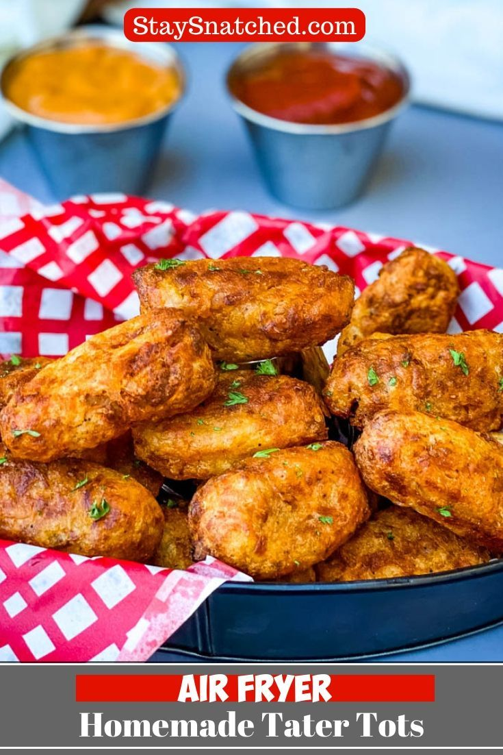 Air Fryer Tater Tots is a quick and easy recipe for