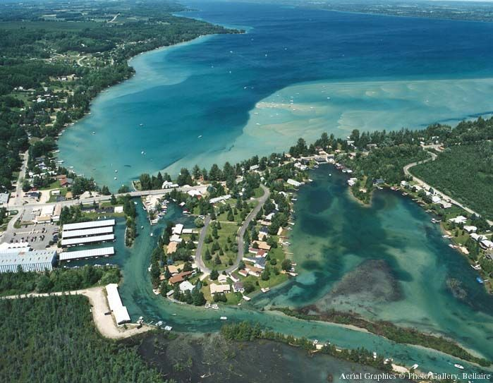 Torch Lake Michigan Pinteres - Michigan location in usa